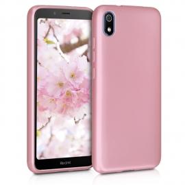 KW TPU Silicone Case Xiaomi Redmi 7A - Metallic Rose Gold (49233.31)