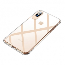 MSVII Shockproof Airbag Case With Strong Corners iPhone X / Xs - Transparent