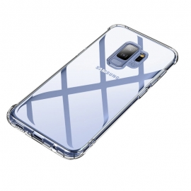 MSVII Shockproof Airbag Case With Strong Corners Samsung Galaxy S9 - Transparent