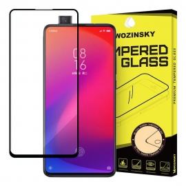 Wozinsky Tempered Glass 9H Full Glue Case Friendly Xiaomi Mi 9T - Black