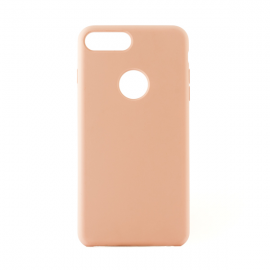 OEM Vivid Case Silicone for iPhone 7 Plus - Soft Pink