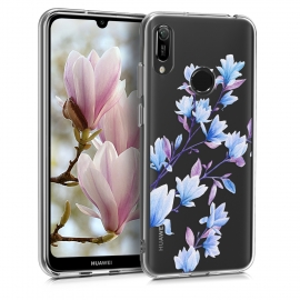 KW TPU Silicone Case Huawei Y6 2019 - Blue / Violet / Transparent (48121.12)