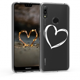 KW TPU Silicone Case Huawei Y6 2019 - Heart Design (48121.09)