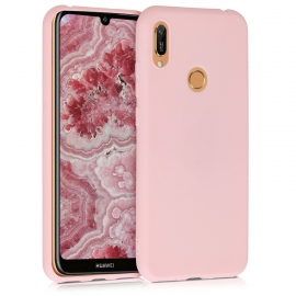 KW TPU Silicone Case Huawei Y6 2019 - Rose Gold Matte (48122.89)