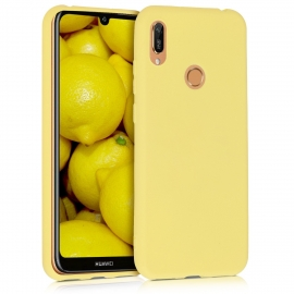KW TPU Silicone Case Huawei Y6 2019 - Yellow Matte (48122.49)