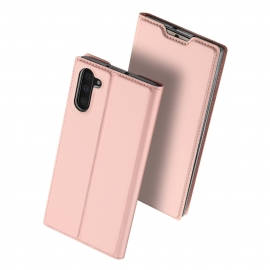 DuxDucis SkinPro Bookcase Samsung Galaxy Note 10 - Rose Gold