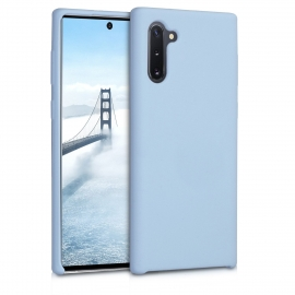 KW TPU Soft Flexible Rubber Samsung Galaxy Note 10 - Light Blue Matte (49955.58)