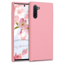 KW TPU Soft Flexible Rubber Samsung Galaxy Note 10 - Light Pink Matte (49955.123)