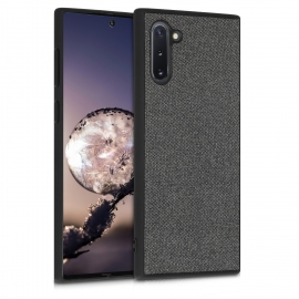 KW TPU Case with Canvas Design Samsung Galaxy Note 10 - Grey (49957.22)