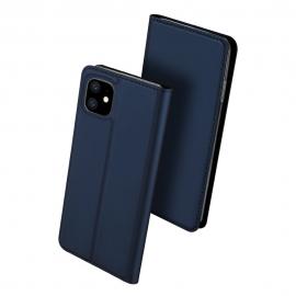 DuxDucis SkinPro Wallet Case iPhone 11 - Blue
