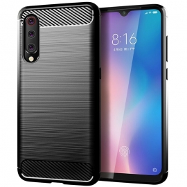 OEM Carbon Case Flexible Cover Xiaomi Mi A3 - Black