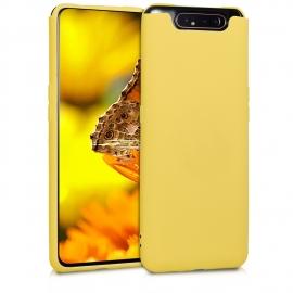 KW TPU Silicone Case Samsung Galaxy A80 - Yellow Matte (48438.49)