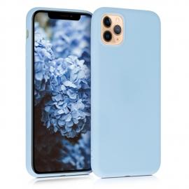 KW TPU Silicone Case iPhone 11 Pro Max - Light Blue Matte (49789.58)