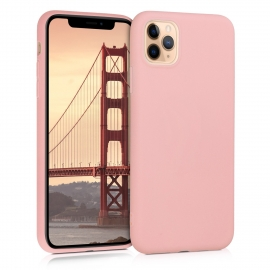 KW TPU Silicone Case iPhone 11 Pro Max - Rose Gold Matte (49789.89)