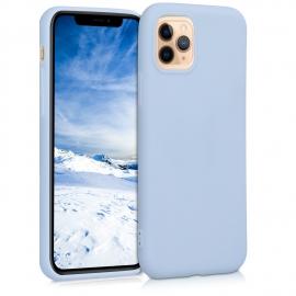 KW TPU Silicone Case iPhone 11 Pro - Light Blue Matte (49788.58)