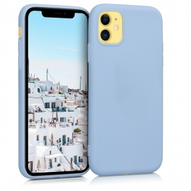 KW TPU Silicone Case iPhone 11 - Light Blue Matte (49787.58)