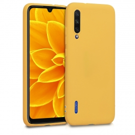 KW TPU Silicone Case Xiaomi Mi A3 - Honey Yellow (49674.143)