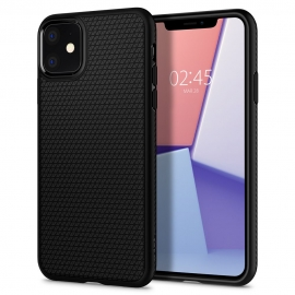 Spigen Liquid Air Back Cover iPhone 11 - Black (076CS27184)