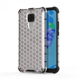Honeycomb Armor Case with TPU Bumper Huawei Mate 30 Lite - Transparent
