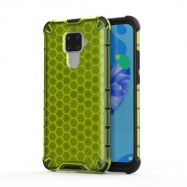 Honeycomb Armor Case with TPU Bumper Huawei Mate 30 Lite - Green