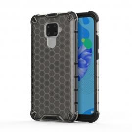 OEM Honeycomb Armor Case with TPU Bumper Huawei Mate 30 Lite - Black