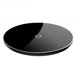 Baseus Simple Stylish Wireless Qi Charger - Black (CCALL-JK01)