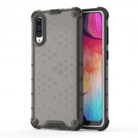 OEM Honeycomb Armor Case with TPU Bumper Samsung Galaxy A50 - Black