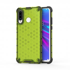 OEM Honeycomb Armor Case with TPU Bumper Huawei P30 Lite - Green