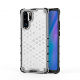 OEM Honeycomb Armor Case with TPU Bumper Huawei P30 Pro - Transparent