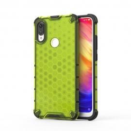 OEM Honeycomb Armor Case with TPU Bumper Xiaomi Redmi Note 7 - Green