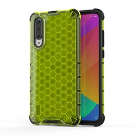 OEM Honeycomb Armor Case with TPU Bumper Xiaomi Mi A3 - Green