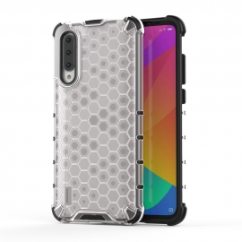 OEM Honeycomb Armor Case with TPU Bumper Xiaomi Mi A3 - Transparent