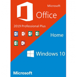 Windows 10 Home & Office 2019 Pro Package
