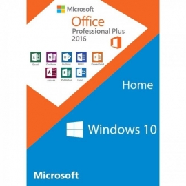 Windows 10 Home & Office 2016 Pro Package