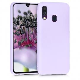 KW TPU Silicone Case Samsung Galaxy A40 - Lavender (48547.108)