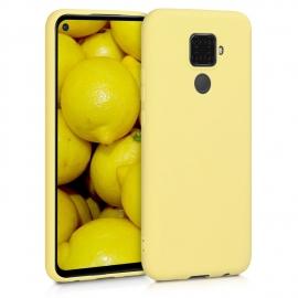 KW TPU Silicone Case Huawei Mate 30 Lite - Yellow Matte (50153.49)