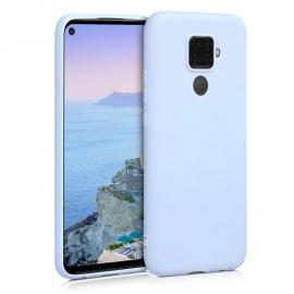 KW TPU Silicone Case Huawei Mate 30 Lite - Light Blue Matte (50153.58)