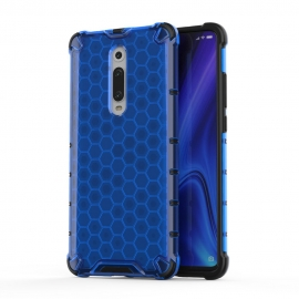 OEM Honeycomb Armor Case with TPU Bumper Xiaomi Mi 9T - Blue