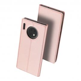DuxDucis SkinPro Bookcase Huawei Mate 30 - Rose Gold