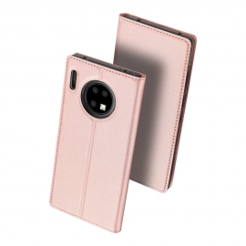 DuxDucis SkinPro Bookcase Huawei Mate 30 Pro - Rose Gold