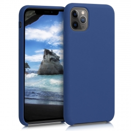 KW TPU Soft Flexible Rubber iPhone 11 Pro Max - Dark Blue (49725.17)