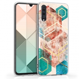KW TPU Silicone Case Samsung Galaxy A70 - Glory Mix Hexagon (48434.13)