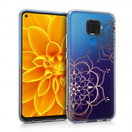 KW Crystal TPU Case Huawei Mate 30 Lite - Flower Twins (50166.02)
