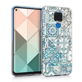 KW TPU Silicone Case Huawei Mate 30 Lite - Moroccan Vibes in Monochrome (50165.07)