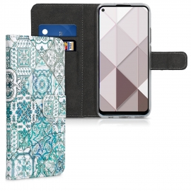 KW Wallet Case Huawei Mate 30 Lite - Moroccan Vibes in Monochrome (50148.04)
