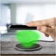 Celly Wireless Fast Charger 10W with microUSB Cable - Black (WLFASTPADBK)