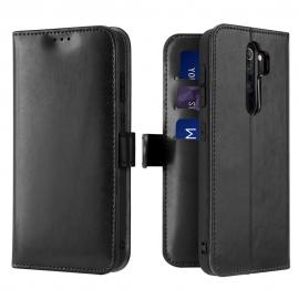 Dux Ducis Kado Bookcase wallet type case Xiaomi Redmi Note 8 Pro - Black