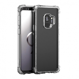 iPaky Crystal PC Case with TPU Frame Samsung Galaxy S9 - Transparent