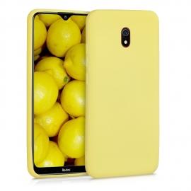 KW TPU Silicone Case Xiaomi Redmi 8A - Yellow Matte (50643.49)