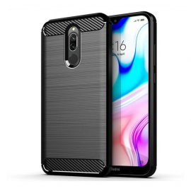 OEM Carbon Case Flexible Cover Xiaomi Redmi 8 - Black